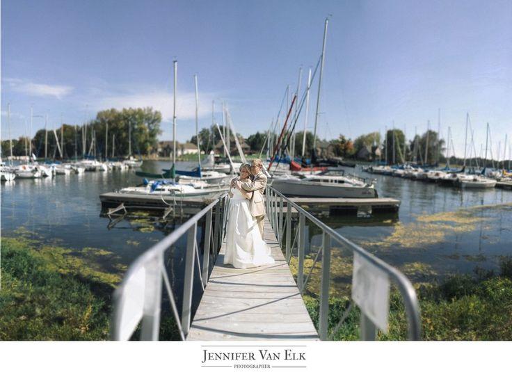 Indianapolis Wedding Photography Geist Sailing Club. Brenizer method.