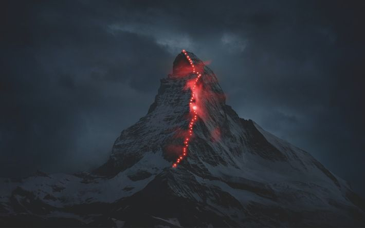 DAY DREAMER: This image guides us to daydreams and kicks of our imagination. Mammut is celebrating the 150 anniversary of the first ascent of the Matterhorn with a great visual story: mammut-erhaelt-pr-bild-award-2015-von-news-aktuell (710×445)