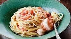Lemon Pasta with Roasted Shrimp Recipe | Ina Garten | Food Network