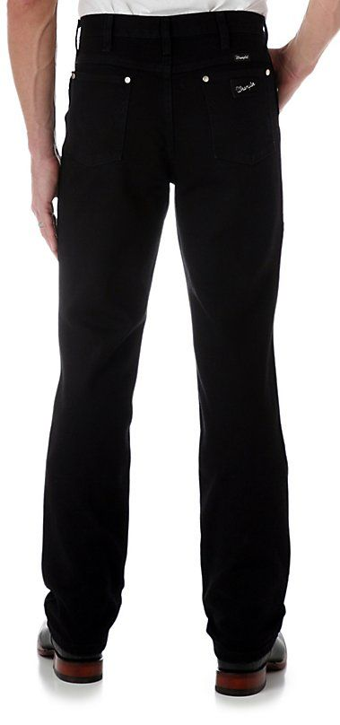 Wrangler Cowboy Cut Silver Edition Black Slim Fit Jeans