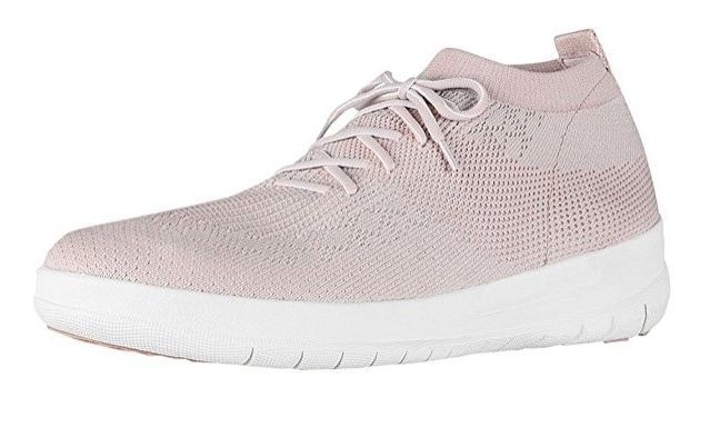 #FitFlop Fitness Schuhe - Fitflop Uberknit, Slip On High Top, rosé.
