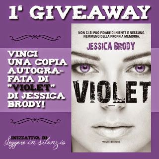 Leggere In Silenzio: GIVEAWAY : Copia Autografata di Violet di Jessica ...