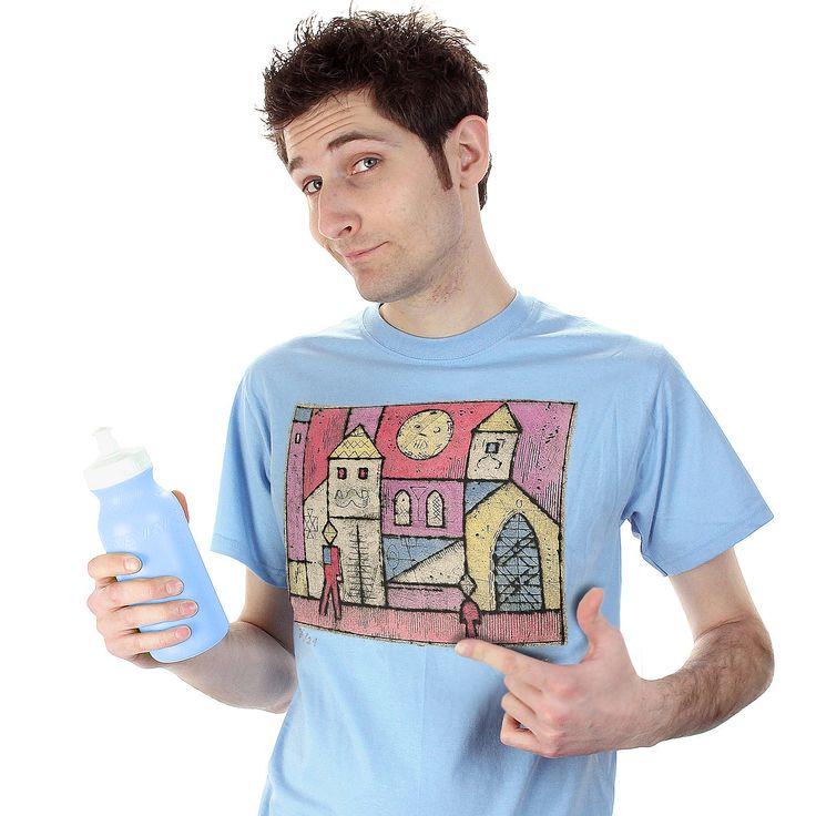 Tričko s potlačou výtvarného diela Lˇudovít Fulla.