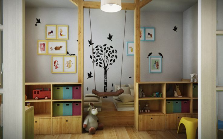 Kids' room visualisation