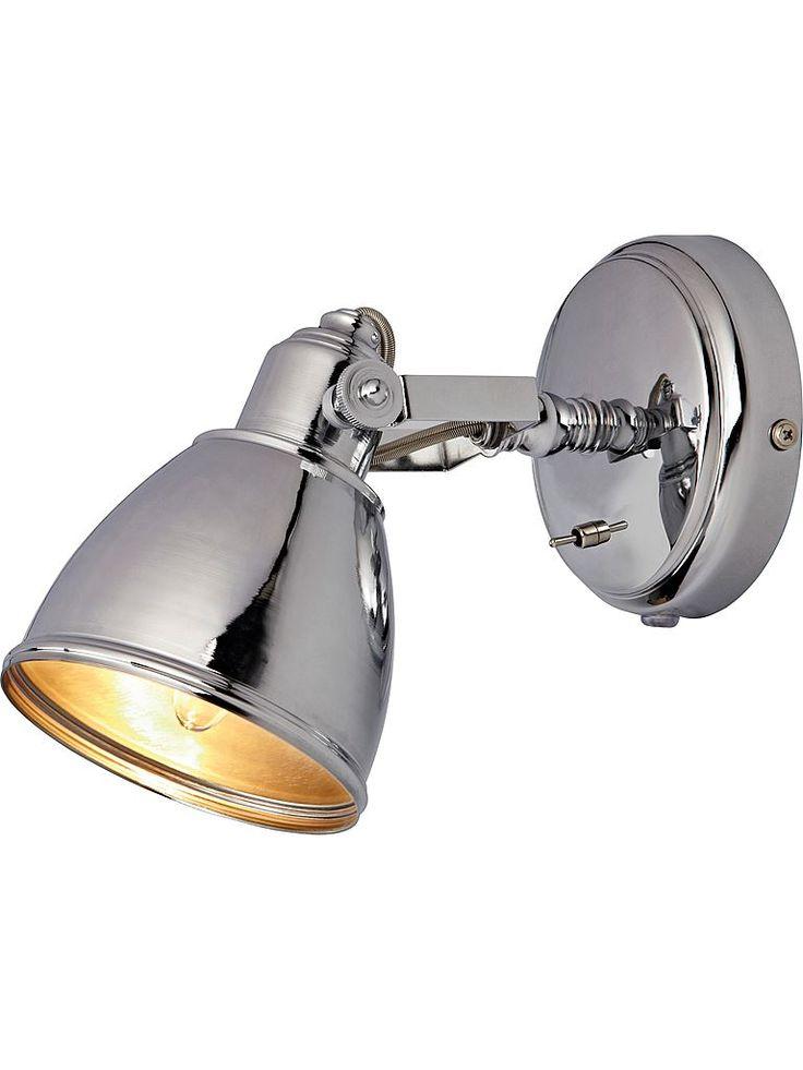 Sänglampa - Silver - Metall -  Markslöjd 104049