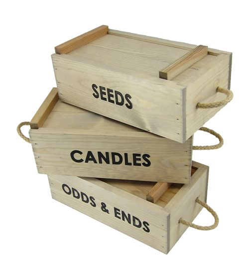 Sliding Lid Boxes ~ too good for just the garden! Here's where to buy!!!!