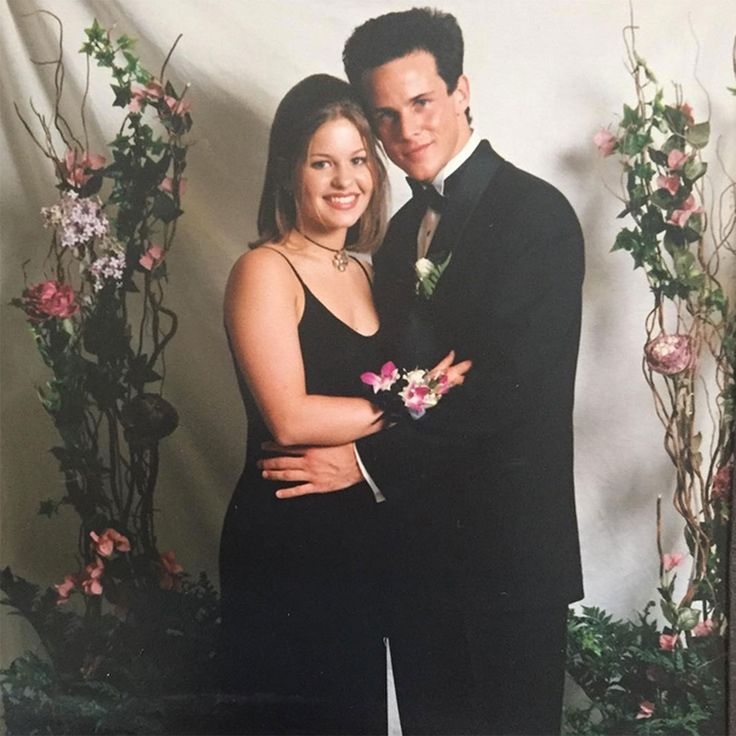Candace Cameron Bure Took Full House BF Scott Weinger to 'Real Life Senior Prom' — Check Out Her Corsage! #candace #cameron #house #scott…
