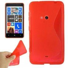 Funda Lumia 625 - Sline Roja  $ 42,11