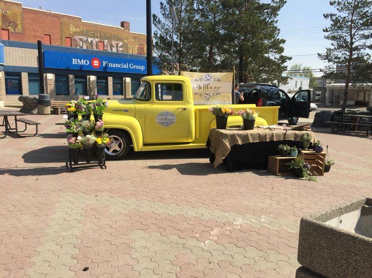 Yellow Posie Flower truck! (Wildflower Florist)