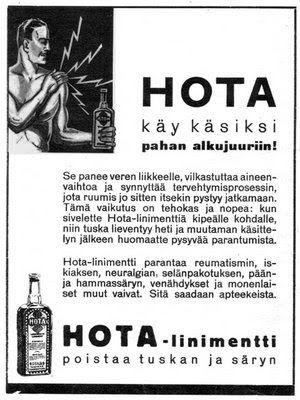 Mainos: Hota (1934)