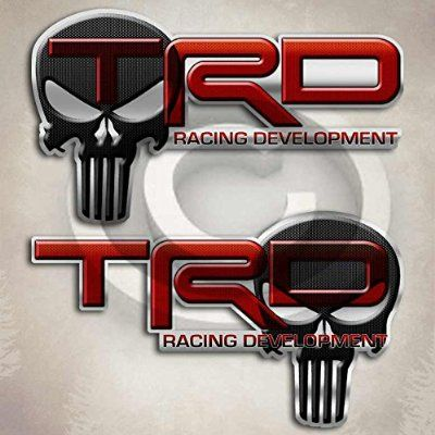 TRD Punisher Skull Toyota Tundra Tacoma