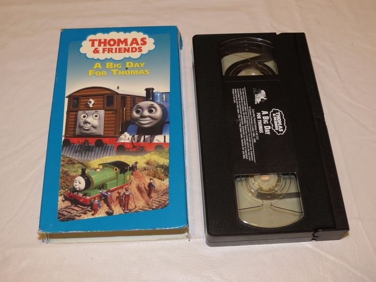 A Big Day For Thomas (VHS, 2003