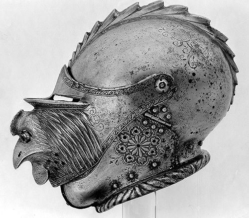 Helmet, Germany, 1540       Via unhistorical.tumblr.com