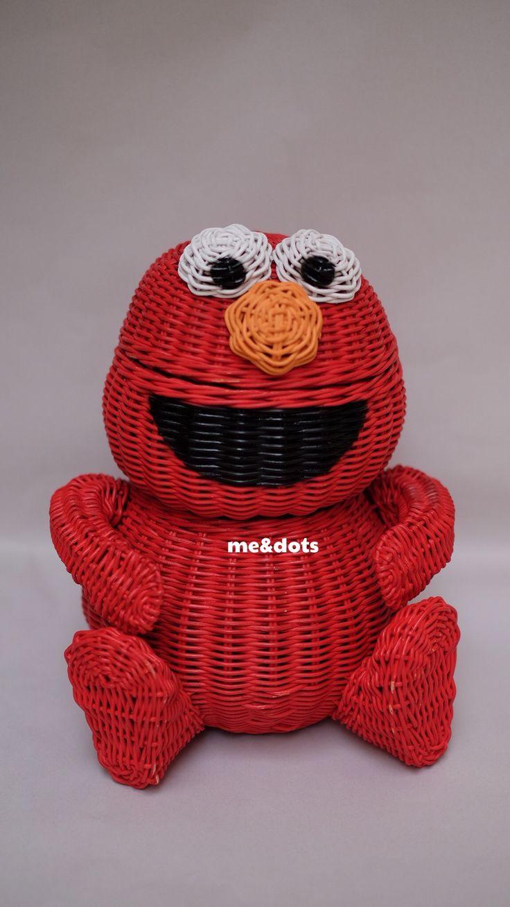 Keranjang Rotan Elmo