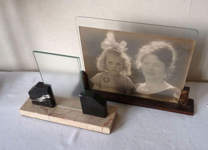 Online veilinghuis Catawiki: 2 oude fotolijstjes plus foto van H.Berssenbrugge