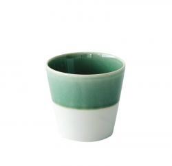 Flared Emerald Tumbler, Jars Ceramistes