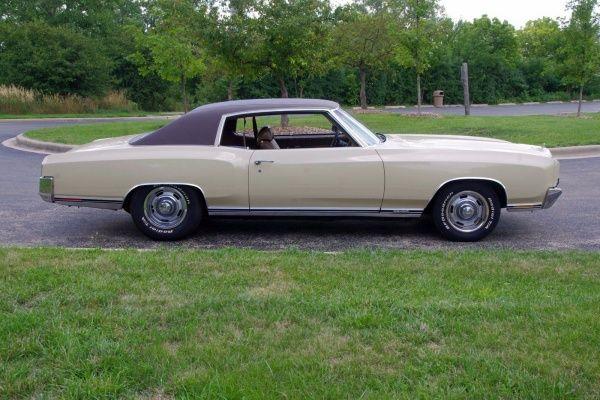 1971 Chevrolet Monte Carlo SS 454 1971 Chevrolet Monte Carlo SS 454 - Low Mileage Big Block Original - Matching #