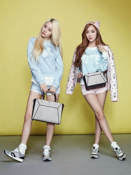 Fashion brand 'Lapalette' reveals more images of Jessica and Krystal | allkpop.com
