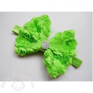 Fruit Green Rosette Lovely #Headband