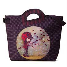 Sac Ketto Nouveau-genre - fille coccinelle / Ketto's newstyle bag - ladybug girl * Fabriqué à 80% de bouteilles de plastique recyclées / Made of 80% of recycled plastic bottles *  www.kettodesign.com