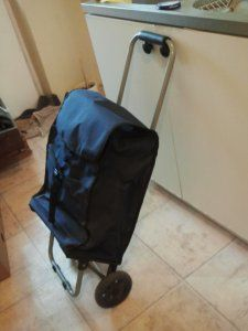 Torba Na Zakupy Wozek Na Kolkach Dla Straszych Oso 6079882510 Oficjalne Archiwum Allegro Bags Luggage Backpacks