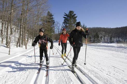 Ski de fond dans le parc de la Gatineau