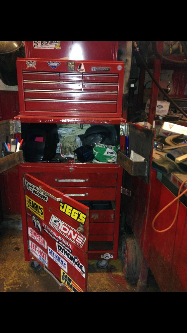 Homemade tool chest in the making