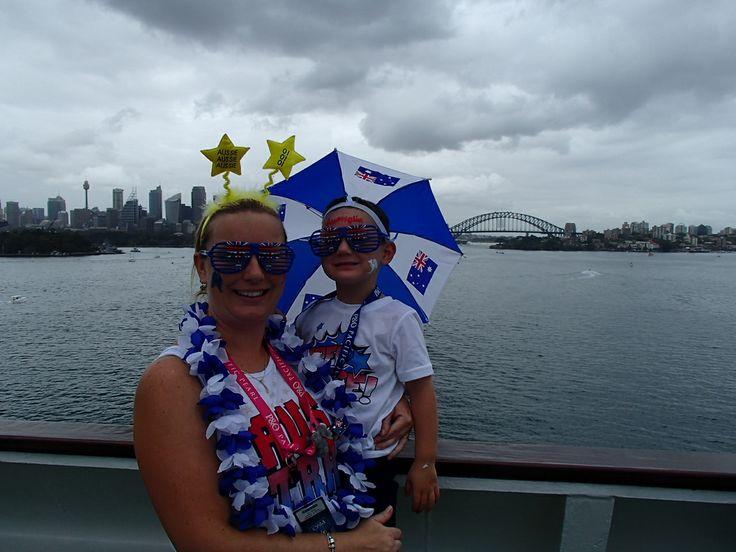 #AustraliaDayOnboard #PacificJewel