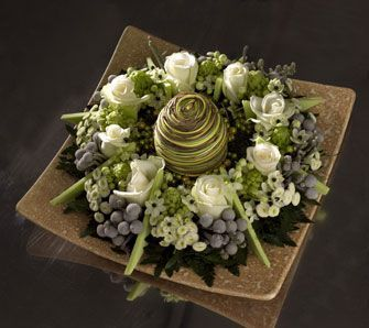 Benodigdematerialen:zelf dit bloemstukje maken   steekschuimkrans Als het biologisch afbreekbaar moet zijn kunt u deze biolit vormen voor ...