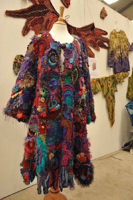 chain creative: Flying without wings  #Scrumbling - free form crochet