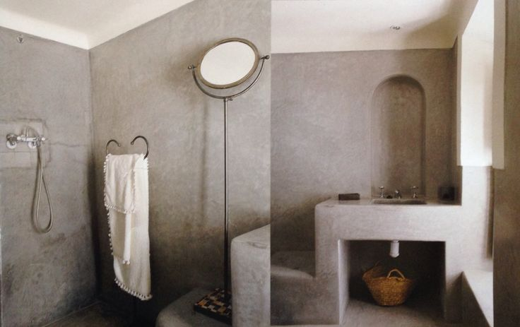 Ordinaire Cement Bathroom