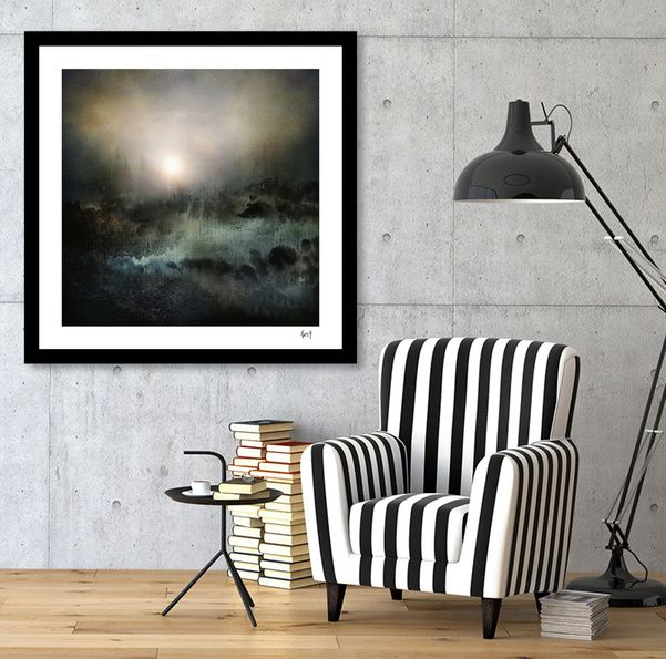 Discover «Calling The Sun II», Numbered Edition Fine Art Print by Viviana…