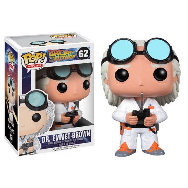 Figurine POP Retour vers le Futur Doc Brown