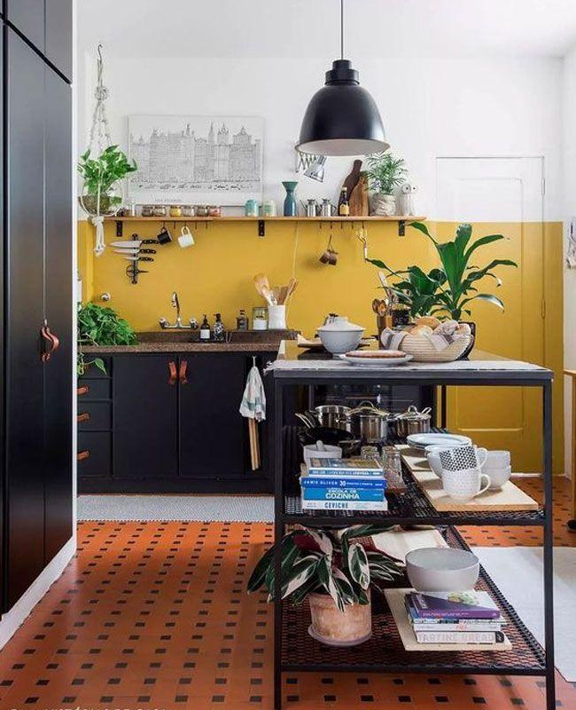 42++ Quel sol pour une cuisine noire inspirations