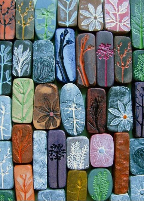 clay DIY magnets #FlowerShop