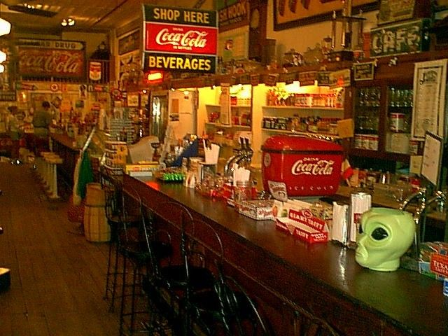 46 best old fashioned soda fountain images on pinterest for Old fashioned ice cream soda fountain