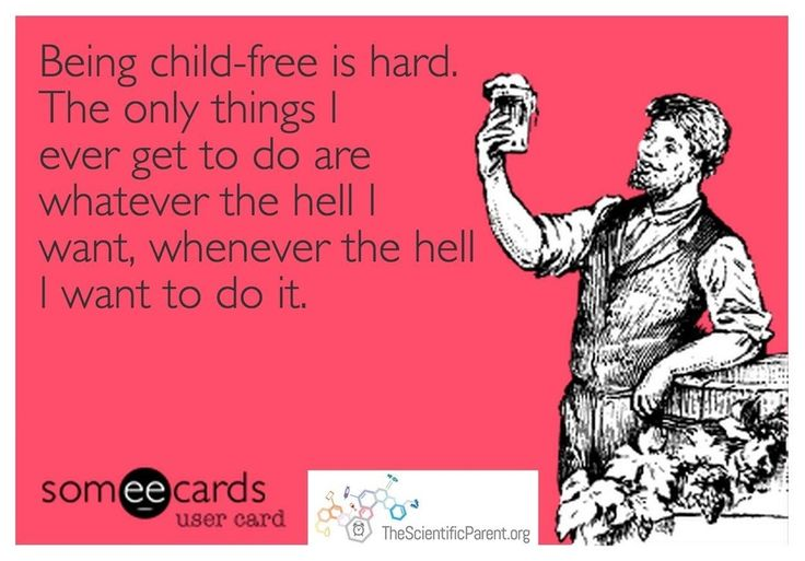 Happy Monday everyone : childfree