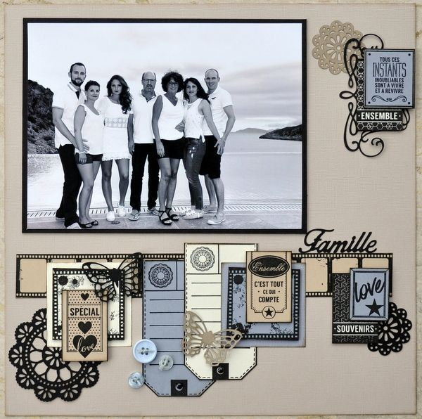 Scrapbook Layout | 12X12 Layout | Scrapbooking Ideas | Creative Scrapbooker Magazine #scrapbooking #12X12layout