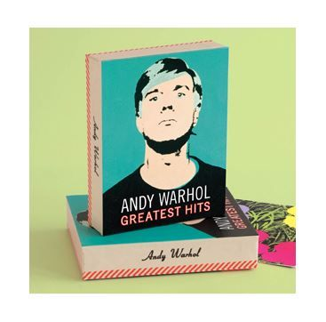Andy Warhol Keepsake Box - from Galison/Mudpuppy.  Available at Bobangles.  #AndyWarhol #Warhol #art #stationery #gift #GalisonMudpuppy #Australia #FathersDay