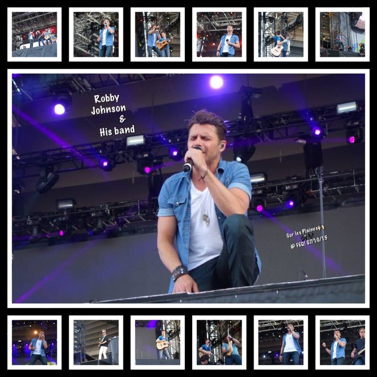 My montage pictures of RJ at Festival d'été in Quebec City on July 10/15.
