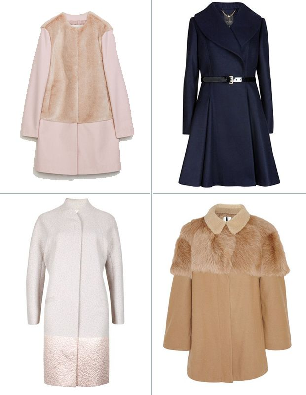 Pretty Winter Coats perfect for a winter wedding | www.onefabday