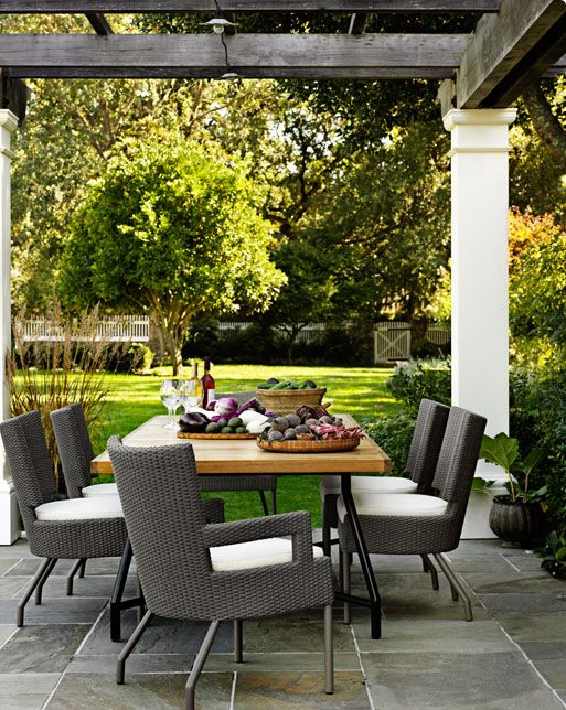The Barbara Barry Outdoor Collection   Contemporary   Patio   San Francisco    McGuire Furniture Company
