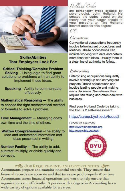 50 best Resume info images on Pinterest Accounting education - accounting major resume