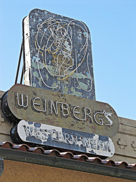 Weinberg's Western Wear,  Coffeyville, Kansas. Still have a pair of boots I bought there.