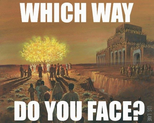 LDS Lane: LDS Conference Talk: Which Way Do You Face?