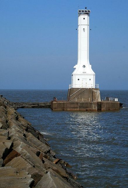 Huron Lake Erie Lighthouse
