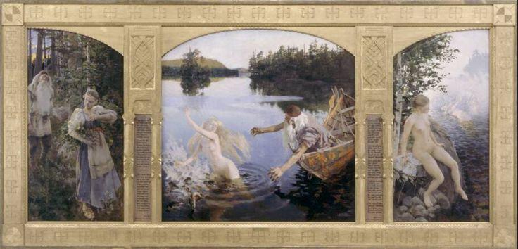The Aino Story by Akseli Gallen-Kallela
