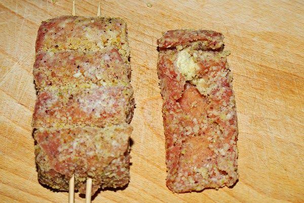 Involtini di pistacchio  - Pistagerullader på sicilianskt vis
