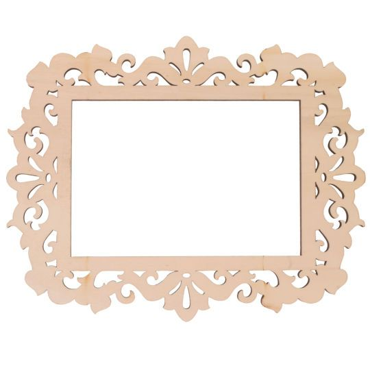 Artminds Wooden Laser Cut Frame Ivy 4 Quot X 6 Quot Creative