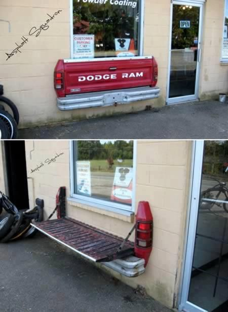 This would be great in the back yard....Can you say Tail Gate Party  Things that could only work at a hunting ranch. Lori, you need this, it's so clever!